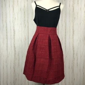 Anthropologie Maeve Scholastic Structured Skirt 12